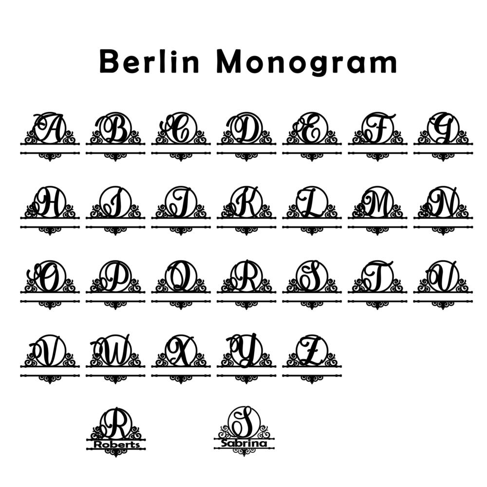 Berlin Monogram-opaque