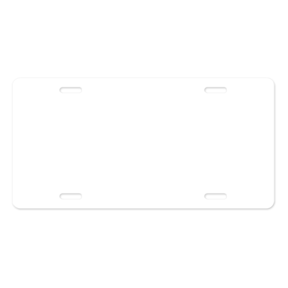 LicensePlate blank-v1