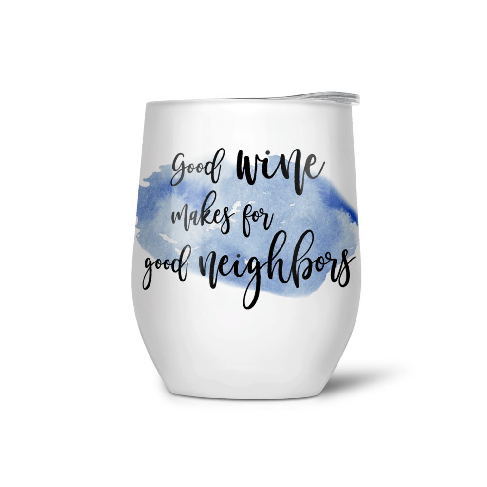 WineTumbler with quote4